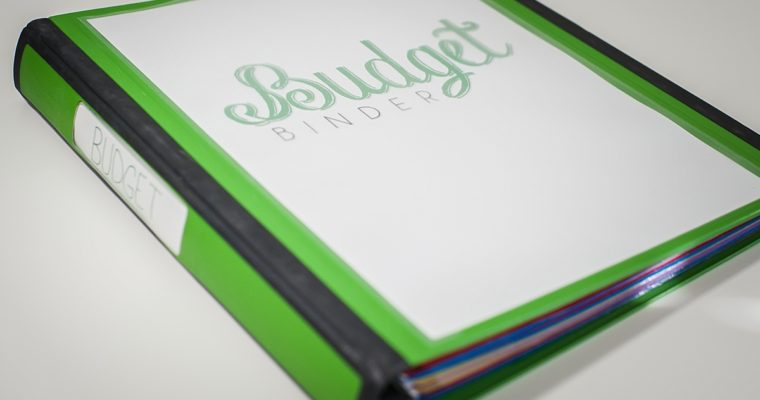 SETTING UP A BUDGET BINDER